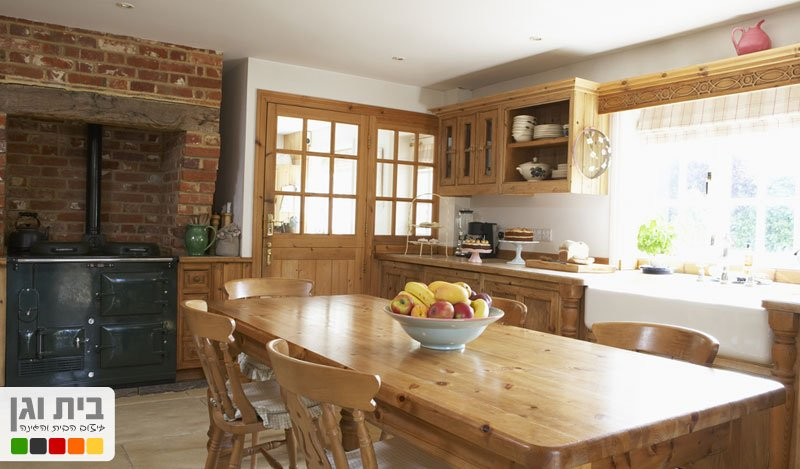 בית וגן - מטבחים כפריים - מאפיינים בולטים