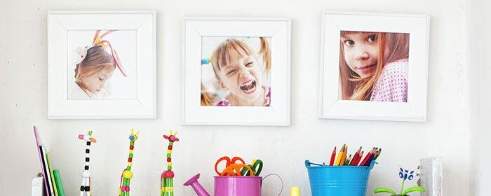 5 רעיונות לסידור והצגה של תמונות משפחתיות